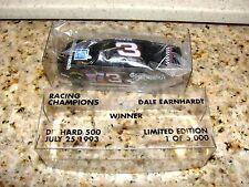 DALE EARNHARDT SR #3 DIE HARD 500 WINNER 7-25 1993 1/64  NASCAR RACING DIECAST