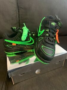 Nike x Off-White Rubber Dunk (PS) Size 12c AUTHENTIC BLK/GRN IN HAND SHIPS FAST
