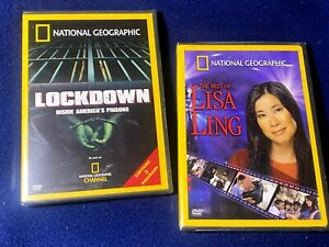 National Geographic LOCKDOWN Inside America's Prisons & The Best of Lisa Ling-BN