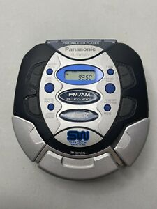 Panasonic / SHOCKWAVE Portable CD Player with FM/AM (SL-SW660V) Tested!