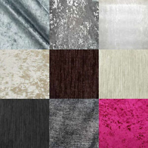 Crushed Velvet Fabric Swatches