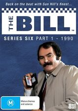THE BILL - SERIES 6, PART 1 (8 DVD SET - LIMITED EDITION) NEW!!! SEALED!!!