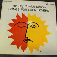 Record Album The Ray Charles Singers Songs For Latin Lovers LP VG