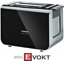 Siemens TT86103 Toaster Black Two Slot 9 roast levels BRAND NEW