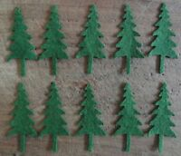 moopRiMiTiVe Wool Felt Die Cut Shapes~Penny Rug~Applique~Mittens~20 pcs~