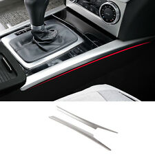 Stainless Steel Gear Shift Panel Decorative Trim For Mercedes Benz C class W204