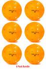 DuraFast 40 Outdoor Pickleball Ball Pack of 6 Orange Authorized Dealer
