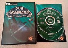 Sub COMMAND AKULA SEAWOLF 688 - (i) - Windows PC-Completo-Cd-rom