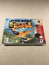 NM/MINT N64 Star Wars Battle for Naboo  Nintendo 64 Video Game NEW & SEALED Gift