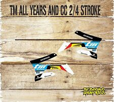 TM RACING ALL YEARS RAD SCOOPS GRAPHICS MOTOCROSS ALL YEARS AND CC MODIFICATION