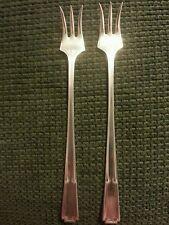 Yourex Lady Frances Pattern Silverplate Cocktail Forks