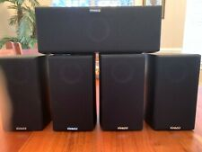 PINNACLE S-FIT SAT 150 & S-FIT LCR 250 SET OF 5 SPEAKERS! FREE SHIPPING!