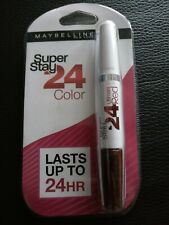 **MAYBELLINE SUPER STAY 24 COLOR ULTIMATE RED 2-STEP LIPSTICK 575 ALWAYS CRIMSON