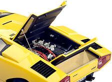 AUTOART 1/18 LAMBORGHINI COUNTACH LP400 1970 YELLOW 74646