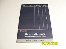 Rheita Haushaltsbuch, 80 bedruckte Innenseiten, DinA5. unbenutzt