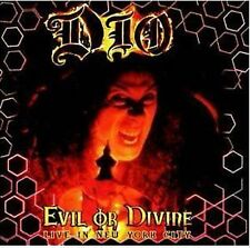 Dio Evil Or Divine Live In New York City CD NEW SEALED 2005 Heavy Metal