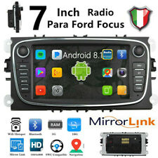 "Autoradio Android 8.1  2 Din 7"" GPS WIFI Per Ford Focus c-max s-max Mondeo"