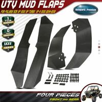 4Pcs Mud Flaps UTV Fender Flares for Polaris RZR XP 1000 XP 4 1000 XP XP4 14-18