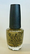 Opi Nail Lacquer All Sparkly And Gold 0.5oz *New*