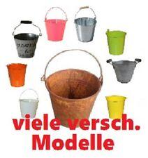 Pflanzschale Zink Pflanzenbehälter Blumentopf Übertopf Libelle 2er Set 3 D Optik