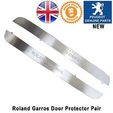 PEUGEOT 308 07-13 portes Sill Protector Surround Kick Plaque Roland Garros Neuf Paire