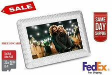 "Polaroid 7"" Digital Picture Frame LED DISPLAY USB FREE SCANDSK MEMORY CARD NEW"