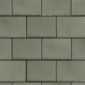 1/12 Dolls House Light Grey Roof Slates Tiles Embossed A3 Paper Card DIY766B
