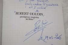 ROBERT HOUDIN MAGICIEN BLOIS CHARLES ARMAND KLEIN ENVOI ILLUSTRE SORCIER MAGIE