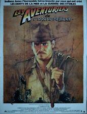 INDIANA JONES L'ARCHE PERDUE Affiche Cinéma 53x40 Movie Poster HARRISON FORD R90