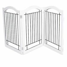 Internet's Best Wire Dog Gate with Arched Top - 3 Panel - 30 Inch Tall Pet Puppy