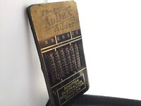 Vintage German Mechanical Calculator Slide Adder The Addex Adder SUPER RARE!1935