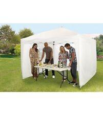 SET 3 WHITE SIDE PANELS fit 2 Metre Instant Pop Up Garden Gazebo tent