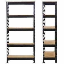 Heavy Duty Storage Rack 5 Level Adjustable Shelves 4000lb.vien Steel Metal Shelf