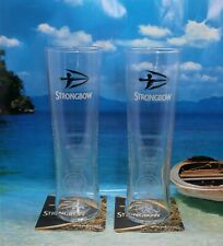 STRONGBOW  CIDER PINT GLASSES - X 2