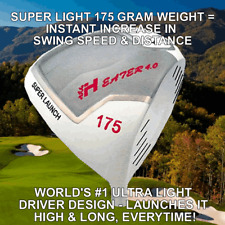 NON-CONFORMING HEATER 175 GRAM ULTRALITE ROCKET ILLEGAL DISTANCE PGA GOLF DRIVER