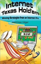 NEW - Internet Texas Hold'em: Winning Strategies from an Internet Pro