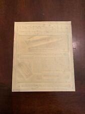 c.1934 Parker Vacumatic Filler Pen Advertising Newspaper Flong Print Mat Mold