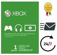 XBOX LIVE 1 MOIS GOLD Live Key Code 🔑 Worldwide 🌎 INSTANT EMAIL 📩