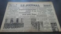 Newspapers The Journal N°17078 Monday 24 July 1939 ABE