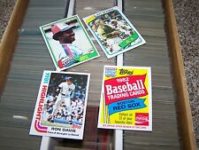 1980, 1981, 1982 Topps w/ Oddball sets Complete Your Set You Pick 20 Lot NRMT