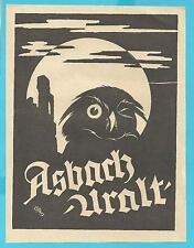 K10.229 Rüdesheim, Asbach Uralt, Weinbrand, Reklame v. 1920