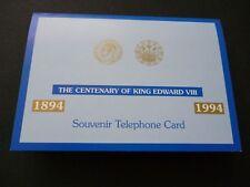 1994 5 Unità Scheda Telefonica Non Utilizzate in Moneta Figurine Confezione