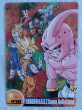JAPAN DRAGONBALL x MORINAGA Sushuu Card SON GOKU VEGETA Kid BUU DXSC-05-430