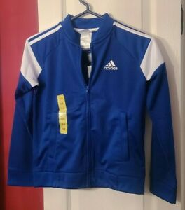 Adidas Boys Track jackets Blue or Black New with Tags