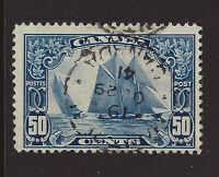 Bigjake: Canada #158, 50 cent Bluenose Schooner