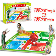 PARCHEESI MAT CARPET FAMILY GAME SET KID EDUCATIONAL PLAY RUG BABY ACTIVITY TOY