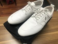 New listing J. Lindeberg Tour Golf Shoes Size US 9 Used White Leather