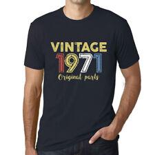 ULTRABASIC - Homme Vintage 1971 Cadeau d'anniversaire 50 Ans T-Shirt