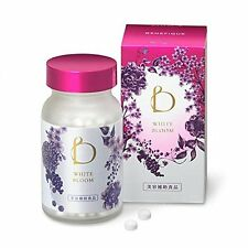 Shiseido BENEFIQUE White Bloom 240 tab Skin Whitening Lycium chinense Antioxidan