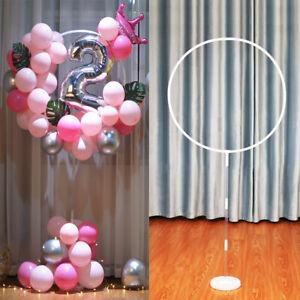Balloon Arch Set Base Pole Column Stand Display Kit Wedding Supplies Party QN UK